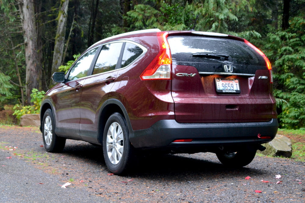 2013 Honda CR X review back angle