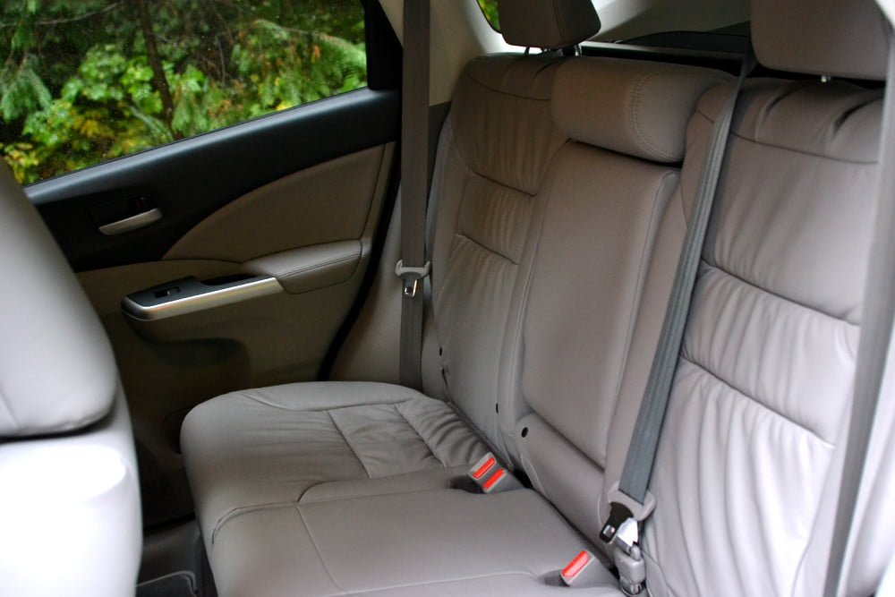 2013 Honda CR X review back seat