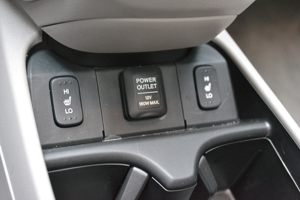 2013 Honda CR X review console ports