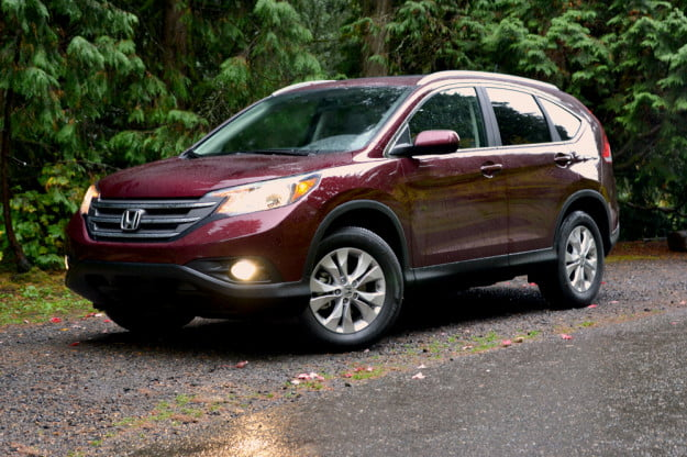 2013 Honda CR X review front angle