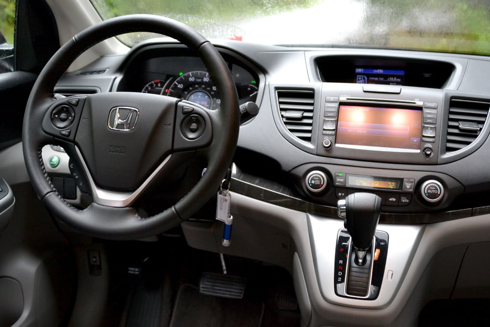 2013 Honda CR X review front
