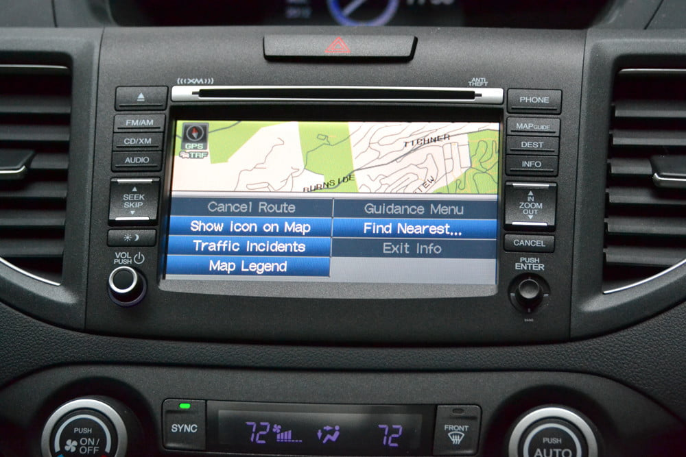 2013 Honda CR X review gps