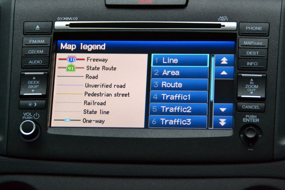 2013 Honda CR X review map gps