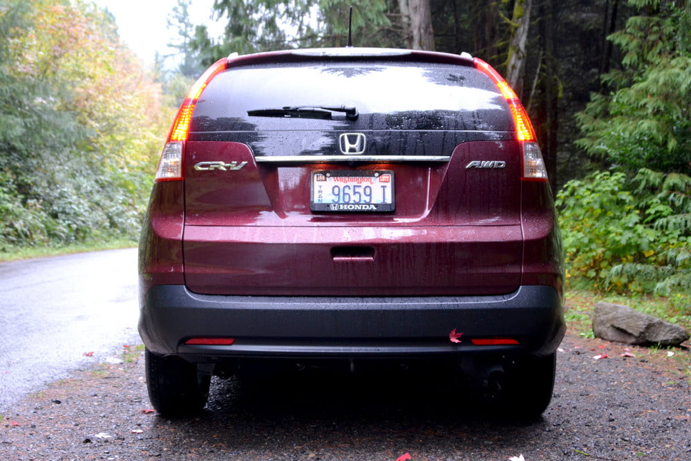 2013 Honda CR X review rear