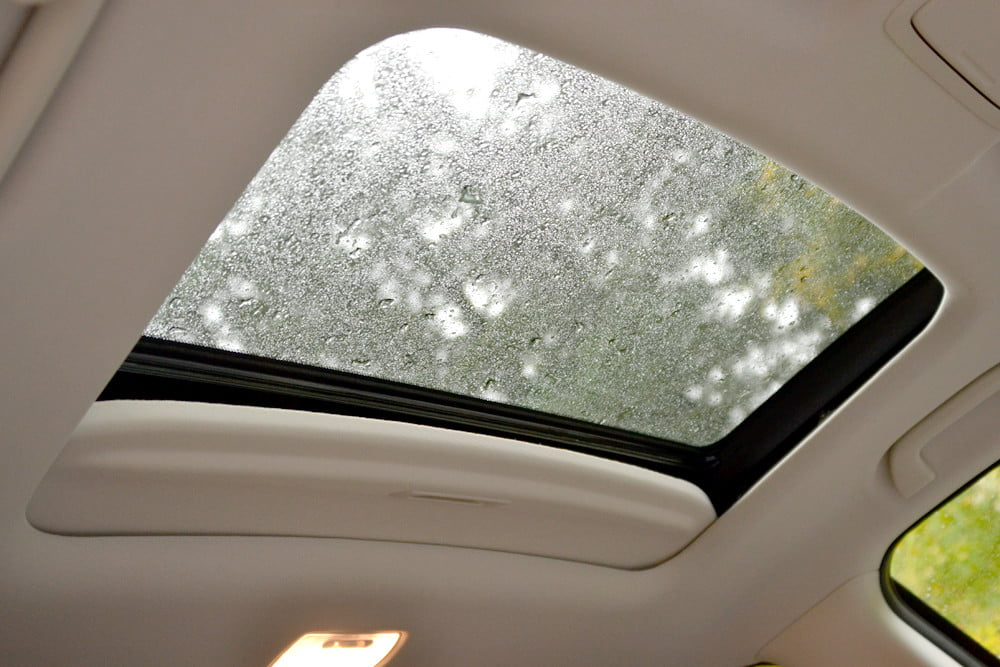 2013 Honda CR X review sunroof