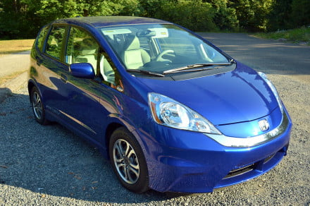 2013 Honda Fit EV exterior front right