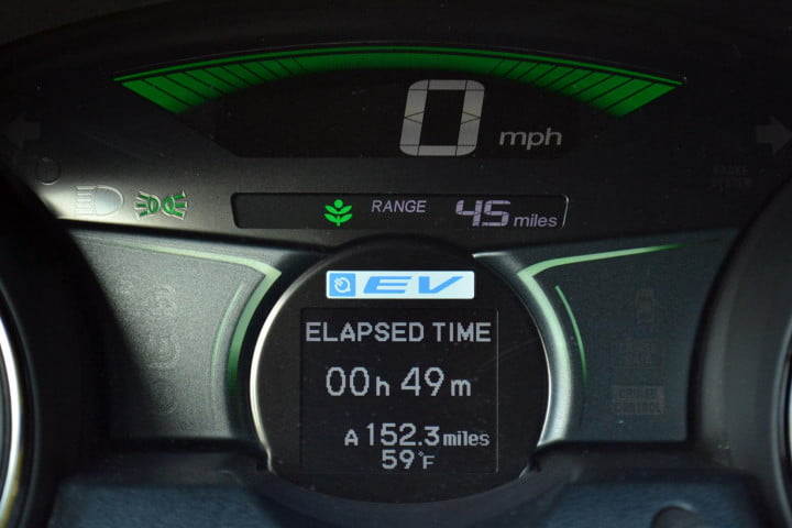 honda fit ev review tech mode drive system econ