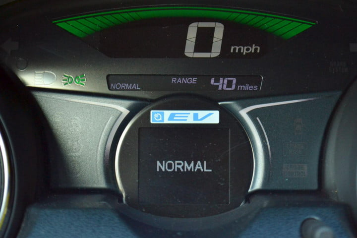 honda fit ev review tech mode drive system normal