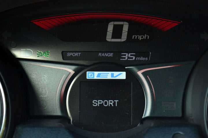 honda fit ev review tech mode drive system sport