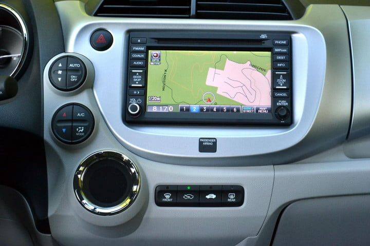 honda fit ev review tech satellite linked navigation system