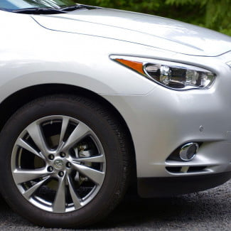 2013 Infinity JX35 exterior front right macro