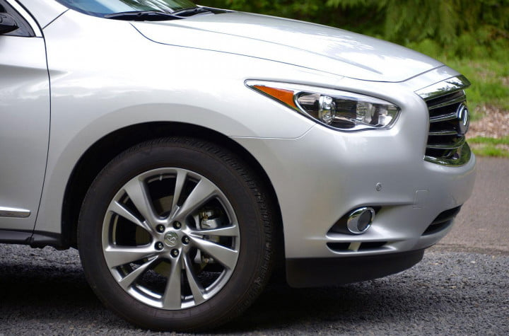 infiniti jx review infinity exterior front right macro