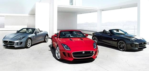 2013 Jaguar F Type leak sports cars