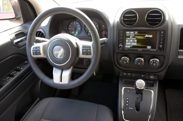 2013 jeep compass interior driver side