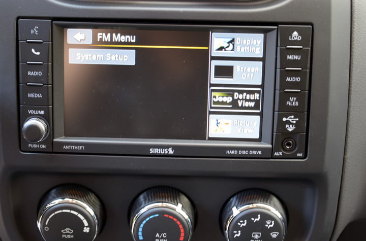 jeep compass review tech system setup