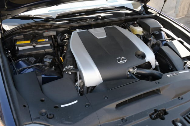 2013 Lexus GS 350 review engine sedan