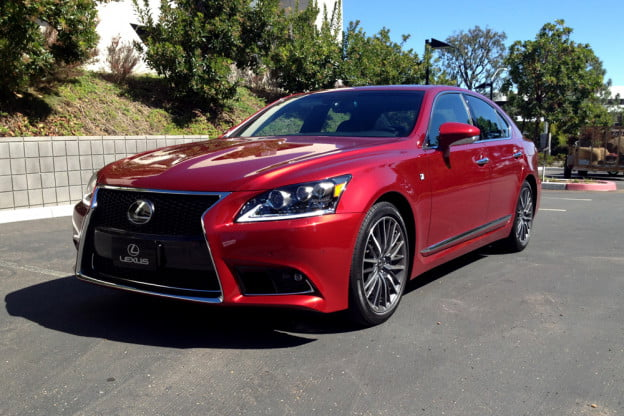 2013 Lexus LS 460 F Sport front angle first drive