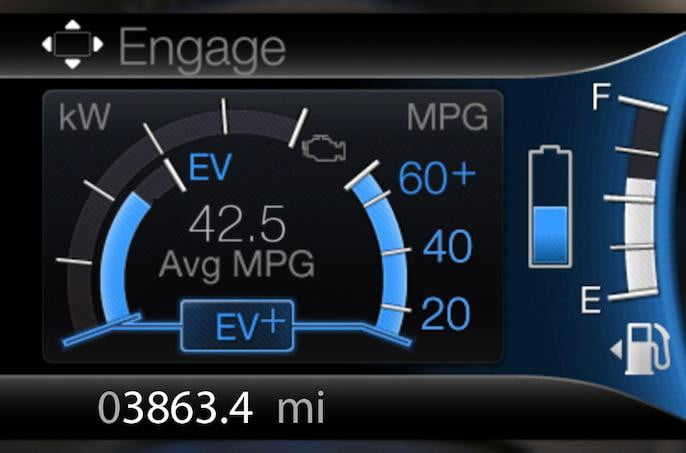 2013 Lincoln MKZ Hybrid Engage