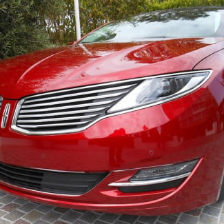 2013 Lincoln MKZ Hybrid exterior front