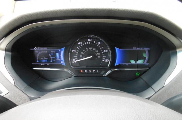 2013 Lincoln MKZ Hybrid instrument cluster