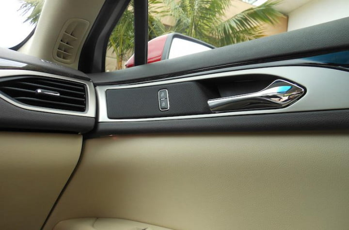 first drive lincolns  mkz hybrid makes going green easy but lacks luxury lincoln interior door