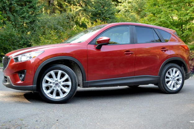2013 Mazda CX 5 Review exterior right side angle low
