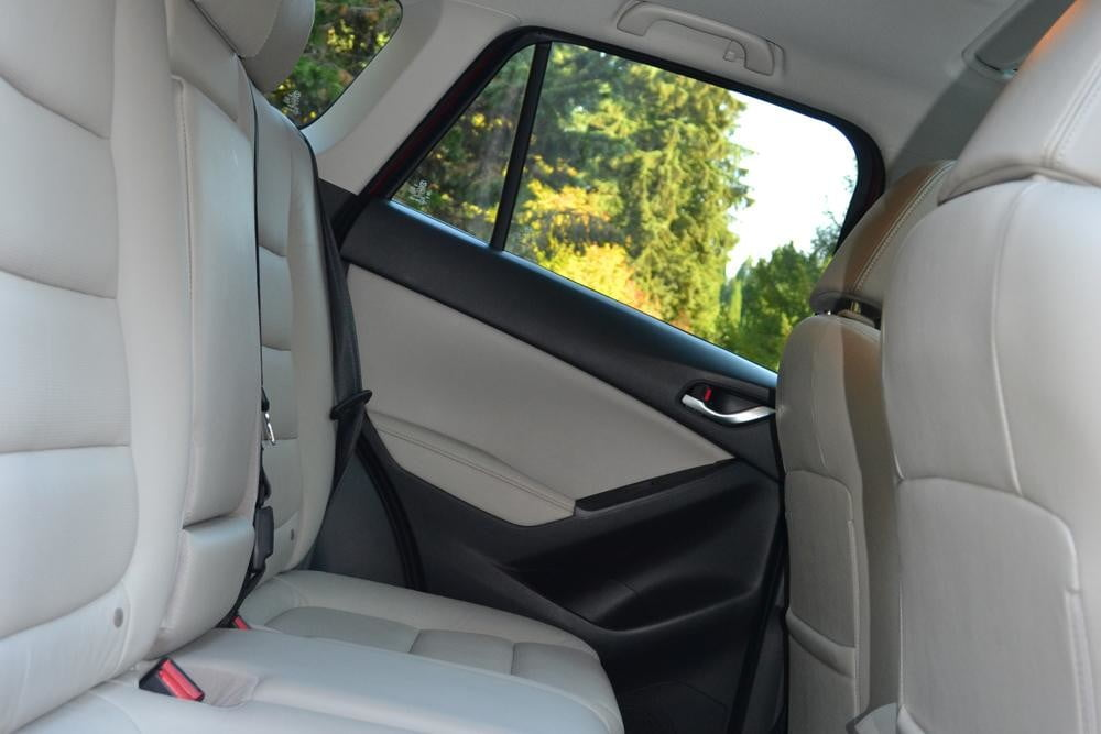 2013 Mazda CX 5 Review interior back seats horizontal