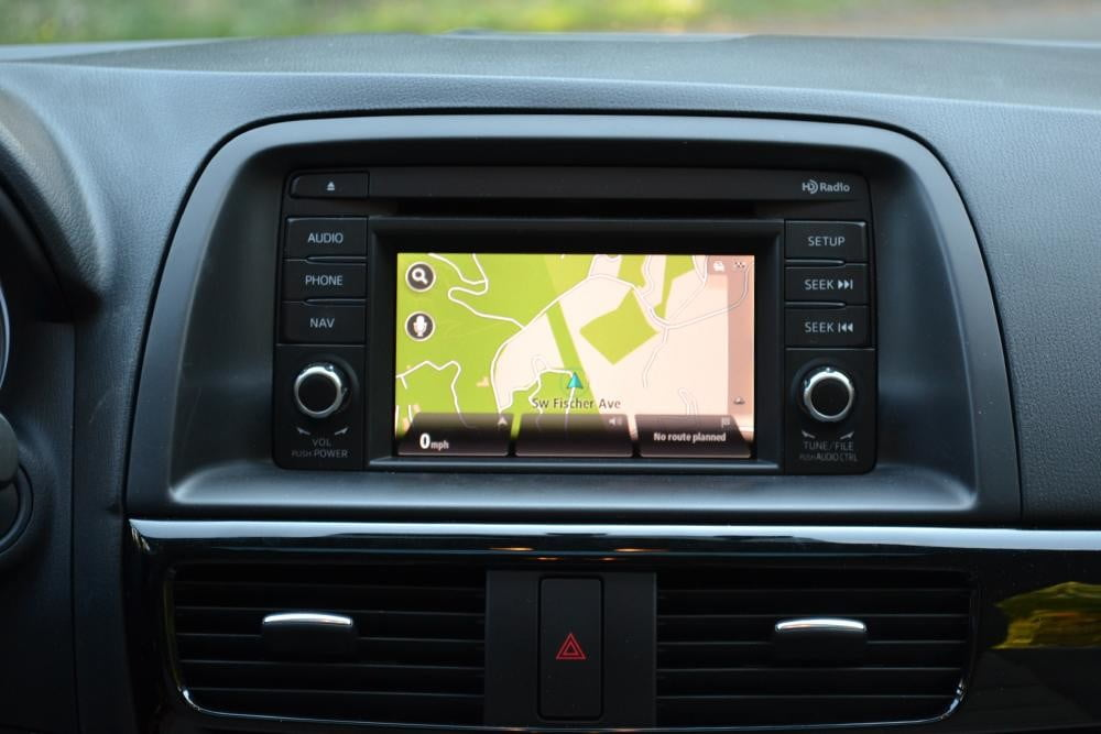 2013 Mazda CX 5 Review interior navigation