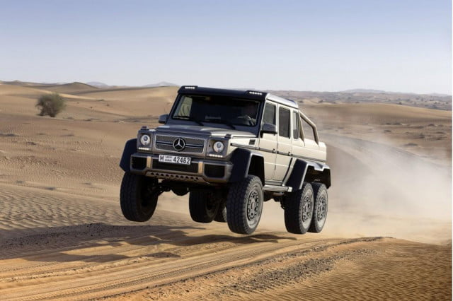 Mercedes-Benz G63 AMG 6x6 getting air large