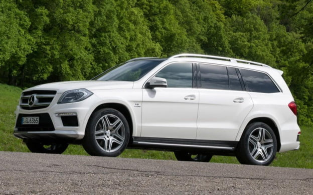 Mercedes-Benz GL63 AMG side view