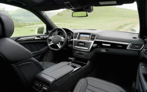 Mercedes-Benz GL63 AMG interior view