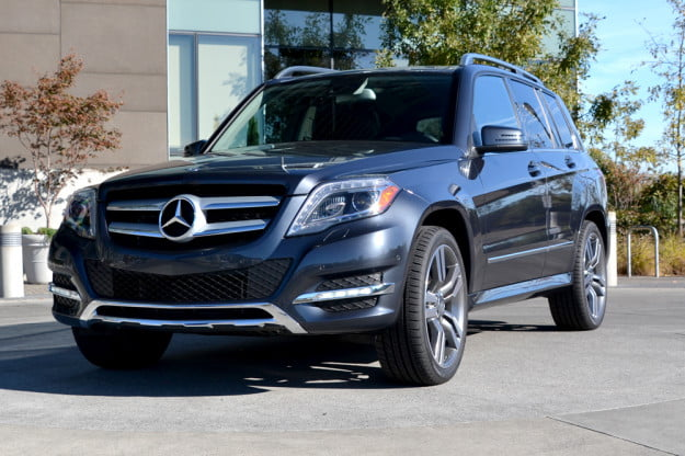 2013 Mercedes GLK350 exterior front angle