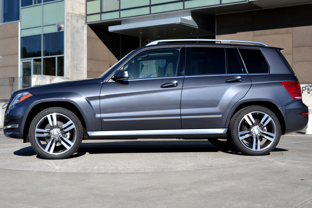 2013 Mercedes GLK350 exterior right side