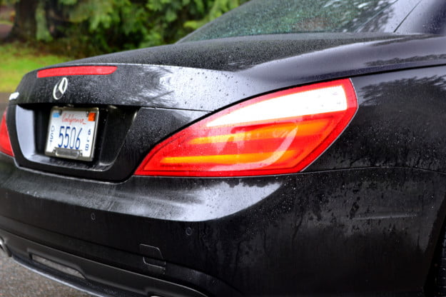 2013 Mercedes SL 550 review booty