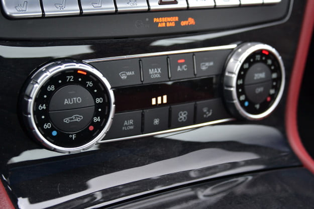 2013 Mercedes SL 550 review center controls