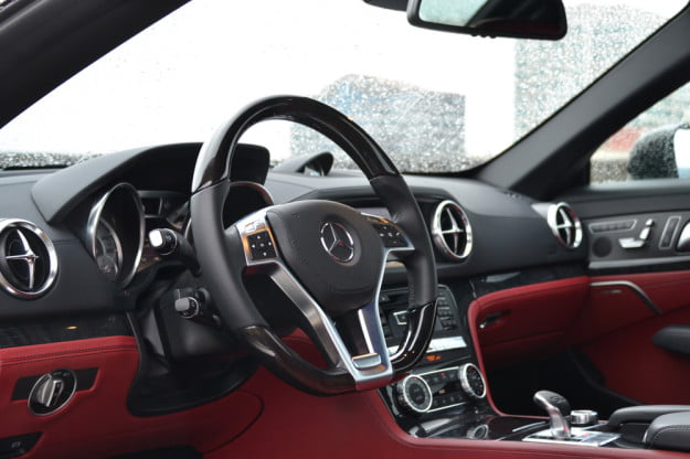 2013 Mercedes SL 550 review drivers