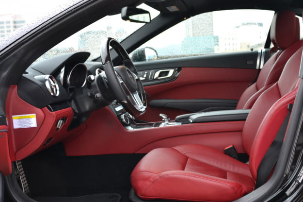 2013 Mercedes SL 550 review drivers side