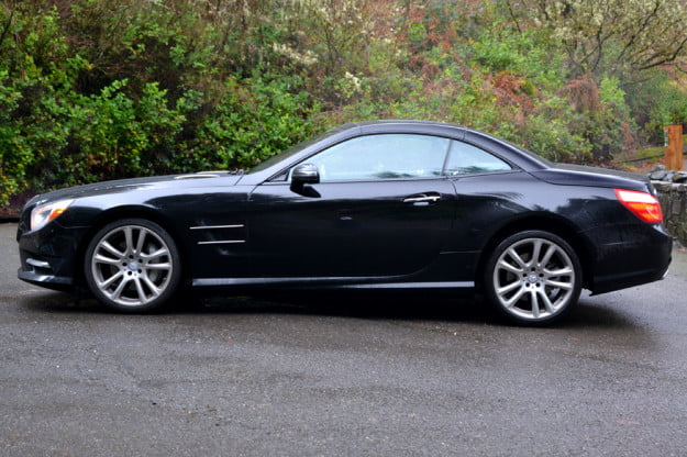 2013 Mercedes SL 550 review left side