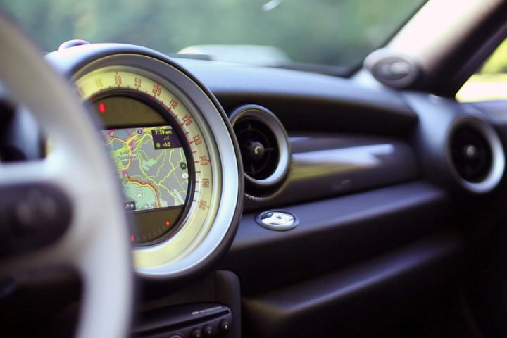 mini cooper roadster review s interior front navigation