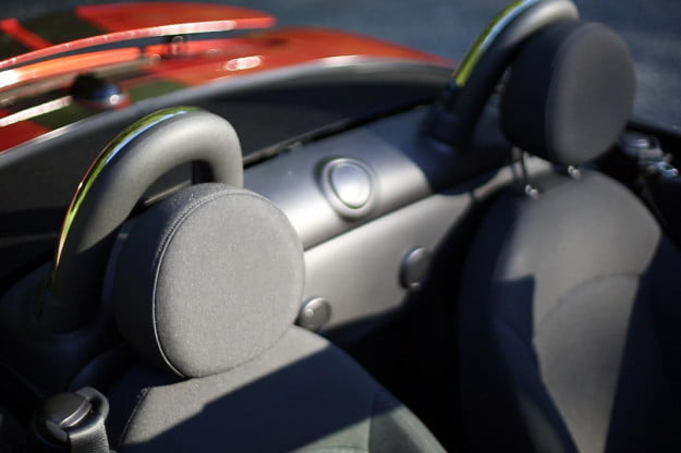 2013 MINI Cooper S Roadster interior seats
