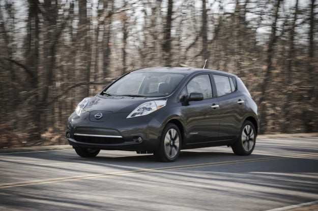 2013 Nissan Leaf motion