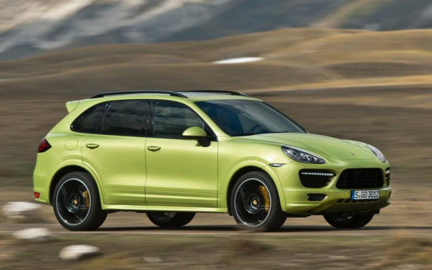 2013 Porsche Cayenne GTS side view