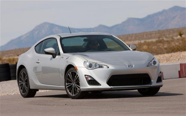 Scion FR-S front-three quarter view