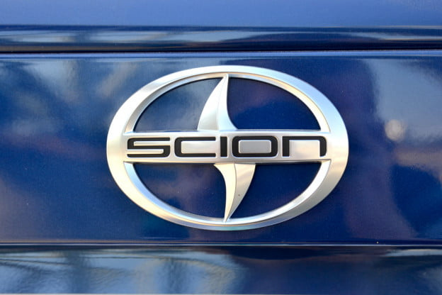 Scion Logo on the 2013 FR-S