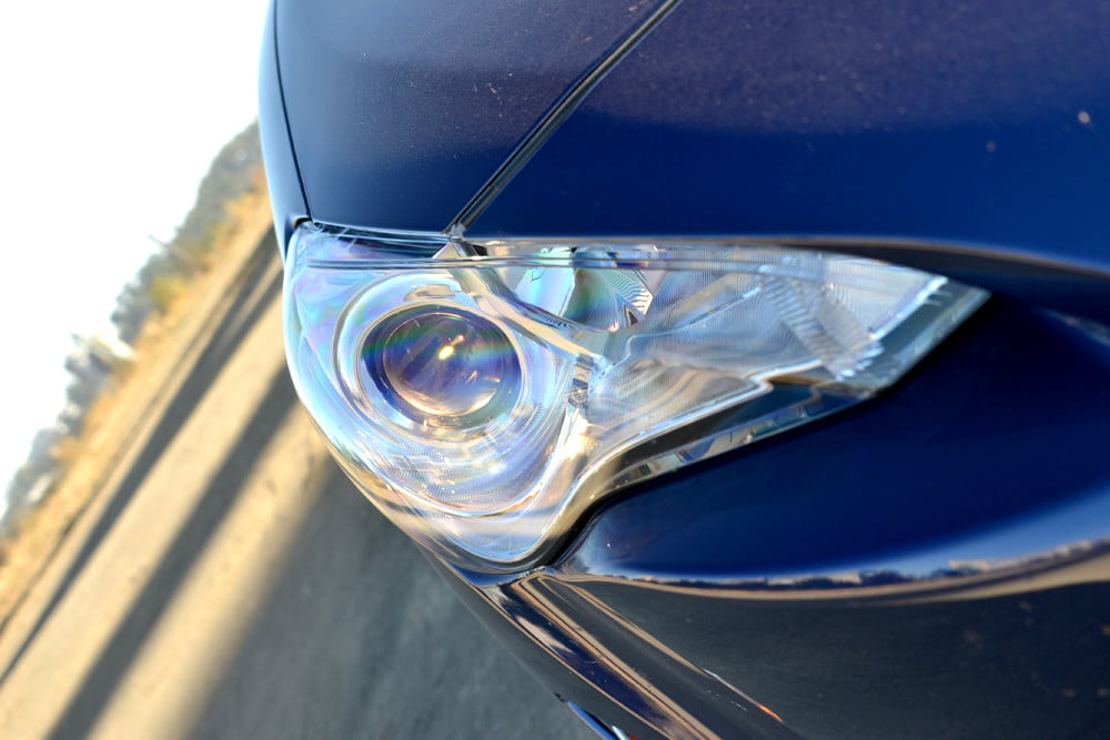 2013 Scion FR S Review exterior headlamp