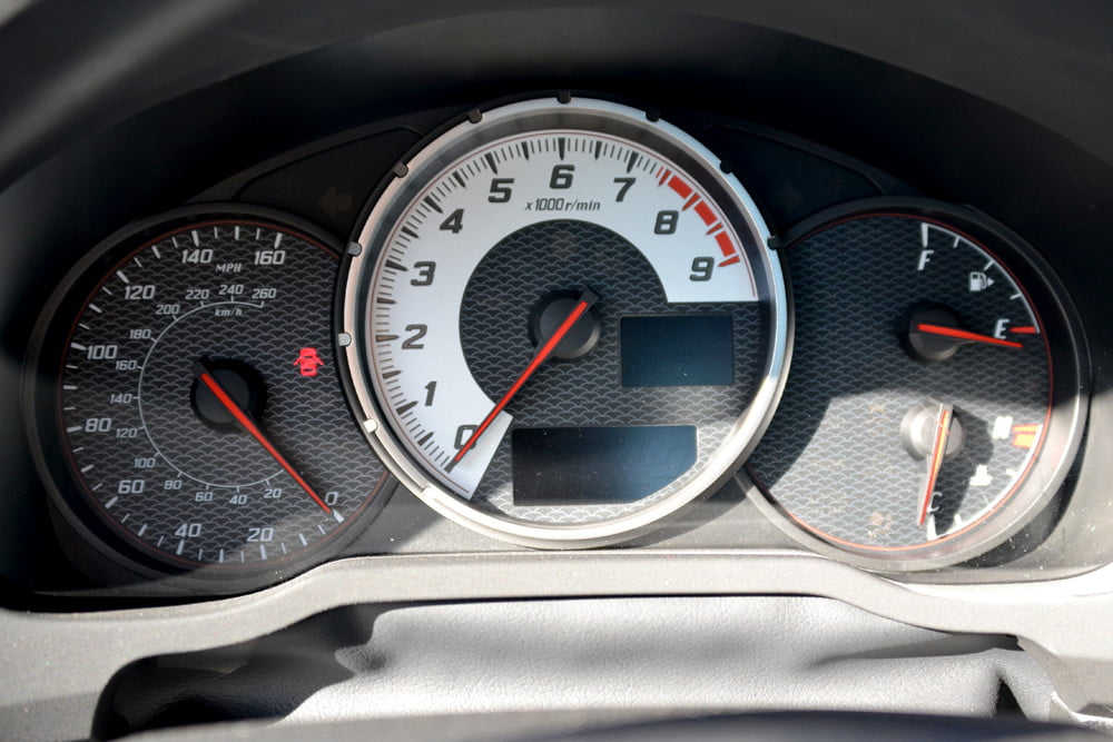 2013 Scion FR S Review interior speedometer