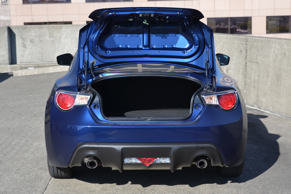2013 Scion FR S Review trunk