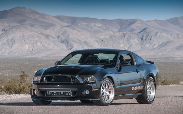 2013 Shelby 1000 S/C Mustang front three quarter
