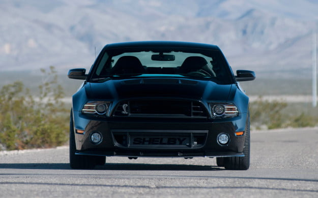 2013 Shelby 100 S/C Mustang front