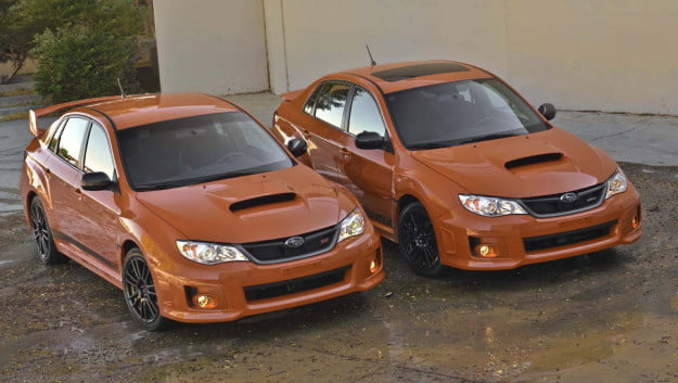 2013 Subaru WRX and WRX STI Special Editions
